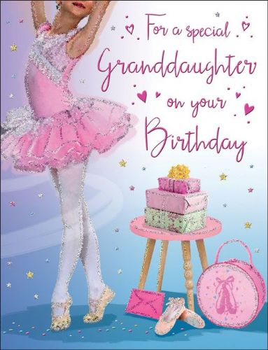 For A Special Granddaughter On Your Birthday